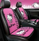 Hello Kitty Car Seat Cover Breathable Auto Protector For Girls Car Accessories