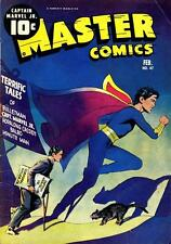 Master Comics #47 Photocopy Comic Book, Captain Marvel Jr., Bulletman