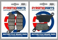 Front & Rear Brake Pads for Yamaha WR125 X Supermoto 09-16