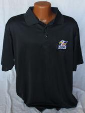 Reebok Colorado Eagles Hockey Coaches Polo - Black with Embroidery Logo - Large