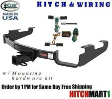 FITS 1996-2000 CHRYSLER TOWN & COUNTRY VAN CLASS 3  CURT TRAILER HITCH & WIRING