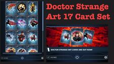 17 CARD SET-DOCTOR STRANGE ART-TOPPS MARVEL COLLECT DIGITAL