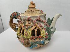 New ListingVintage Lilliput Lane English Cottage Musical Teapot - Collectors Item