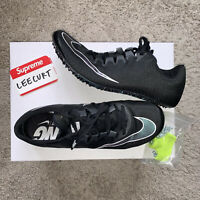 Nike Zoom Superfly Elite Men's Size 8.5 Black Track Field Spikes 835996-002 NEW