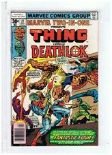 Marvel Two In One #27 The Thing & Deathlok VF 1977