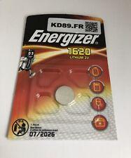 2 X pile energizer CR 1620 lithium 3 v clef  Casio Seiko montre Val Juil 2026