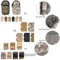 Outdoor Waterproof Tactical Waist Belt Pack Phone Case Pouch Bag Camping Hiking