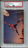 1985 Nike Basketball #2 Michael Jordan Rookie Card RC Graded PSA PSA MINT 9