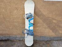 Spry Snowboard - Late 90's Off Brand, 142 CM / 56 IN Early Season Rock Board