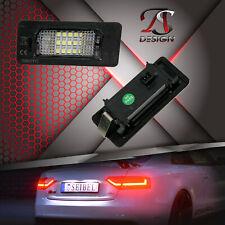 LED Kennzeichenbeleuchtung für Audi A1 A3 A4 S4 A5 S5 A6 A7 TT Q3 Q5 StVZO FREI