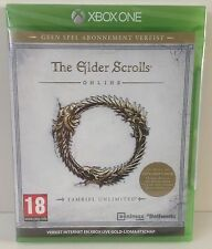 XBOX one The Elder Scrolls Online : Tamriel Unlimited * NEW SEALED * XBOX1 PAL 2