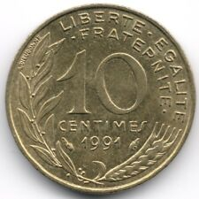 France : 10 Centimes 1991