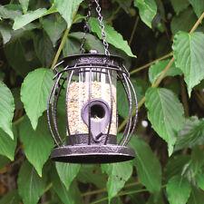 Metal Mini Caged Small Lantern Shaped Bird Seed Feeder