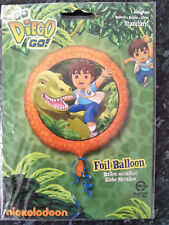 Brand New Nickelodeon Go Diego Go Foil 17 Inch Balloon