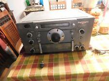 Vintage 1960'S National Brand Model Number Hro Sixty Ham Radio Transceiver Nr!