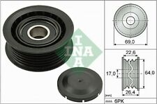 PUCH Aux Belt Idler Pulley Guide Deflection INA Genuine Top Quality Guaranteed