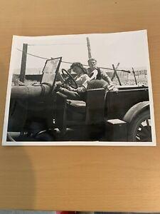 "ORIGINAL PHOTO JAMES DEAN & ELIZABETH TAYLOR ""GIANT"" BY FLOYD McCARTY"