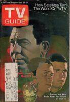 1972 TV Guide July 22 - Jack Webb; Karen Huston; Phil Donahue; The People Movie