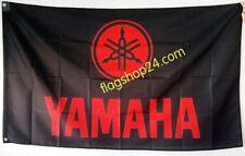 FREE SHIP TO USA YAMAHA LOGO Black red FLAG BANNER SIGN 3x5 feet yfz yzf fjr