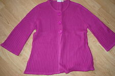 Markenlose Damen-Pullover mit mittlerer Strickart und Knöpfen