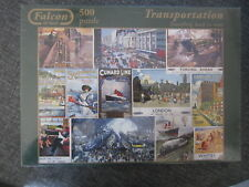 PUZZLE 300 FALCON DE LUXE VINTAGE TRANSPORTATION TRAVELLING BACK IN THE TIME