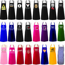 More details for unisex adult aprons chefs novelty butchers funny kitchen bbq party cooking gift