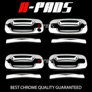 FOR CADILLAC ESCALADE/CHEVY AVALANCHE 2002-2006 CHROME DOOR HANDLE COVER