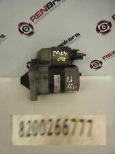 Renault Megane 2002-2008 1.6 16v Starter Motor 8200266777B