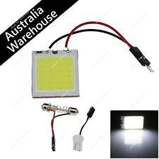 White 24 Chips COB LED Festoon Dome/Box Light Panel Interior Bulb T10 adapter