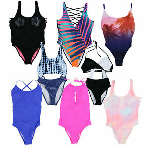 Victoria's Secret Pink One Piece Swim Bathing Suit Swimsuit Beach Pool Vs New