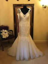 Maggie Sottero Wedding Dress CHARDONNAY Size 12 Ivory NEW!!