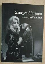 GEORGE SIMENON MON PETIT CINEMA