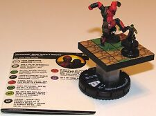 DEADPOOL, MERC WITH A MOUTH 060 Deadpool and X-Force Marvel HeroClix Super Rare
