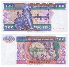 Myanmar 100 Kyats 1994 P-74 Banknotes UNC