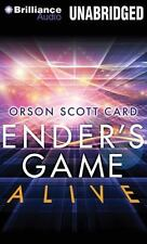 Ender's Game Alive : The Full-Cast Audioplay by Orson Scott Card (2014, CD,...