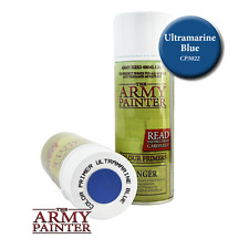 The Army Painter CP3022 Primer Ultramarine Blue 400ml Fine Spray Can Courier Pst