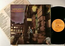 DAVID BOWIE : THE RISE AND FALL OF ZIGGY STARDUST AND THE ...  -   1972  LP  USA