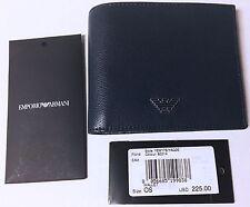 Armani Wallet Emporio two fold Dark blue