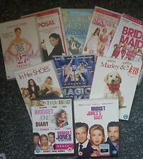 DVD BUNDLE : Bridgette Jones Diary 1 2&3 Magic Mike, Bridesmaids,SexCity, Marley
