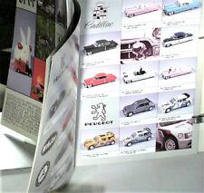 CATALOGUE VITESSE 1/43 1990/AMERICAINES,VW BULLI,BEETLE,AUSTIN,LAND,MERCEDES,2CV