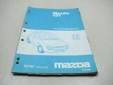 MAZDA 121 1990 elektrische Schaltpläne Wiring Repair Manual 5179-20-90L
