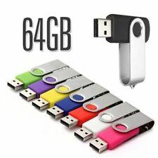 Clé USB 64 GO USB Drive 64 Go Clé USB à mémoire flash USB