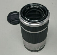 Sony SEL55210 55-210mm f/4.5-6.3 OSS Silver Zoom Lens for Sony E-Mount Cameras