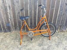 Schwinn Exerciser vintage orange exercise stationary bike - excellent condition