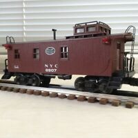 LIONEL NEW YORK CENTRAL WOOD- SIDE CABOOSE # 6907