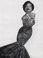 1955 Vintage 16x20 EARTHA KITT Actress Singer Comedy Photo Art PHILIPPE HALSMAN