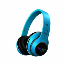 New listing Foldable Bluetooth Noise Cancelling Headphones Stereo Earphones Wireless Headset