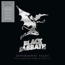 "Black Sabbath Supersonic Years: The 70s Singles Box Set 10 X 7"" Box Set NEW"
