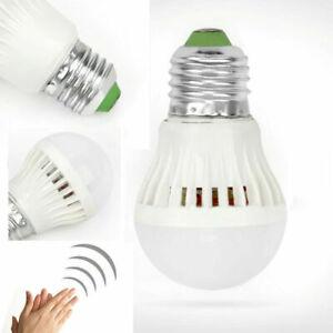 NEW E27 SMD 5830 LED 3W Clap And Turn The Light Bulb Lights White AC110-220V