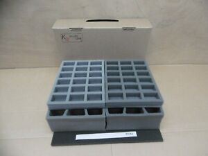 Clearance Colour Tray Special! KR Case - 25mm/32mm and 40mm Troops